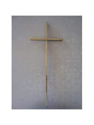 Crucifixo de Bronze Filete 20cm